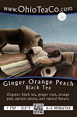Ginger Orange Peach Black - Organic