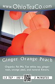 Ginger Orange Peach White - Organic